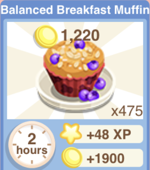 Balanced Breakfast Muffin Recipe