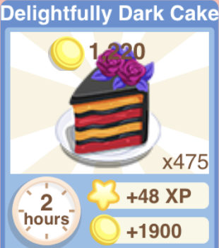 Delightfully Dark Cake Recipe