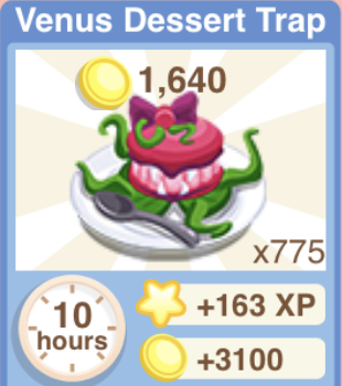 Venus Dessert Trap Recipe