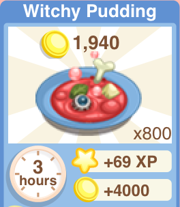 Witch Pudding Recipe