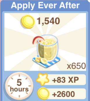 Apply Ever After Recipe