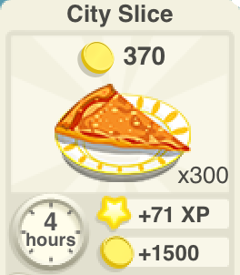 City Slice Recipe