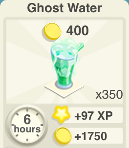 Ghost Water Recipe