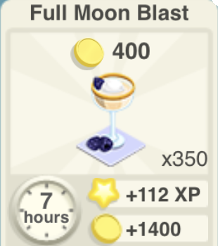 Full Moon Blast Recipe