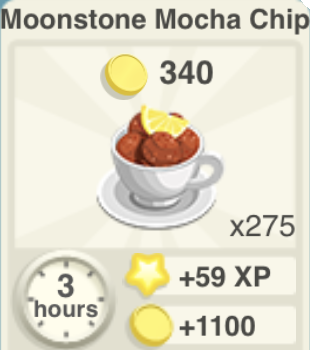 Moonstone Mocha Chip Recipe