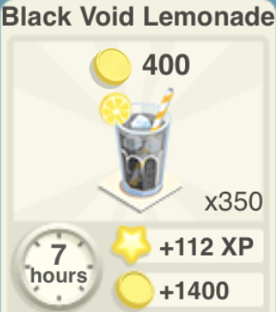 Black Void Lemonade Recipe