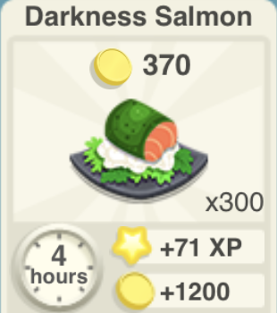 Darkness Salmon Recipe