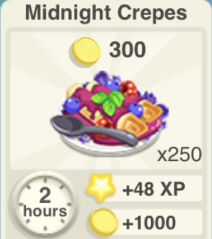 Midnight Crepes Recipe