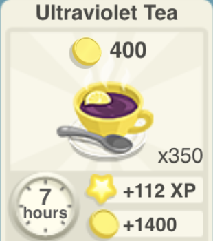 Ultraviolet Tea Recipe